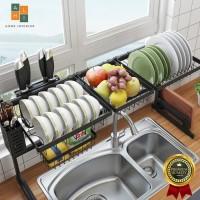 KAF Tempat Piring Cucian Rak Wastafel dapur Stainless Murah Serbaguna