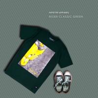 HIPSTER T-Shirt Kaos Rider Classic Green