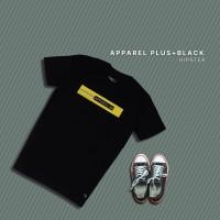 HIPSTER T-Shirt Kaos Apparel Plus Black