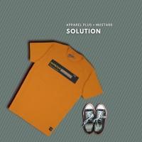 HIPSTER T-Shirt Kaos Apparel Plus Mustard
