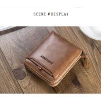 Dompet Kulit Original Baellery D3124 Dompet Lipat Pria bisa Wanita