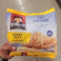 quaker oat cookies honey nut 270gr - biskuit malaysia