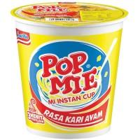 Pop Mie Kuah Kari Ayam 75gr