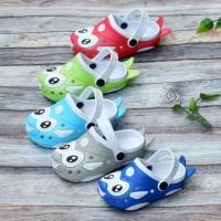 Sandal Selop Bakpau Anak motif karakter ikan Dulux 220 E