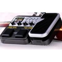 digital multi efek gitar nux mg 100 modeling processor