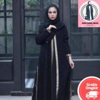 GAMIS ABAYA WANITA TURKEY DRESS MUSLIM SYARI BORDIR 321