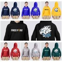 Jaket hoodie anak FREE FIRE EVOS switer anak batleground baju gaming