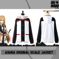 Jaket Distro Anime Sword Art Online Asuna Cosplay Hoodie - JZ SAO 02