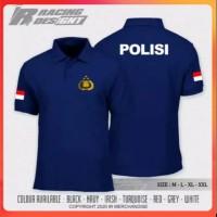 Polo shirt kaos baju kerah polo shirt POLISI REPUBLIK INDONESIA