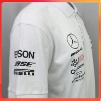 polo shirt KAOS KERAH FORMULA F1 MERCEDES BENZ BRANDED DISTRO