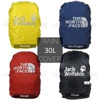 Raincover 30L - 35L Tas Cover Bag Daypack Ransel Waterproof Anti Air