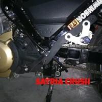 step Underbone Satria fu karbu injeksi ub custom plat besi