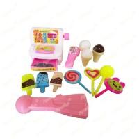 Mainan Kasir Mini dan Aneka Makanan - RANDOM