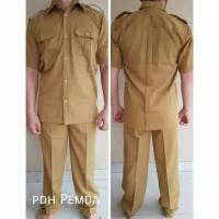 Dijual Set Baju Seragam Pdh Pns Asn Pemda Khaki Pria Laki Laki Cowok