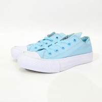 Sepatu Converse Chuck Taylor II Baby Blue Grade Ori !