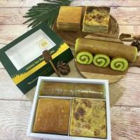 Paket Kue Trio Happy (Maksuba, Lapis Legit, Bolu Gulung) 1 Box Ready
