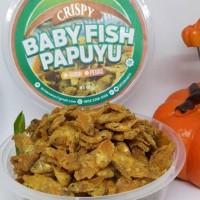 Terbaru Ikan Crispy Baby Fish Papuyu 165 Gr Rasa Pedas 785
