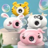 mainan gelembung balon bubble camera sabun kamera machine mesin karakt
