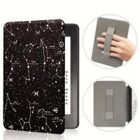 Constellation kindle paperwhite 10th gen smart case with strap casing