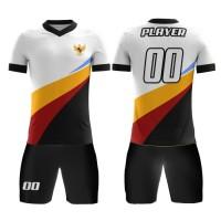 Kaos Baju Jersey Futsal Bola Setelan Celana Motif Batik KLB155 Dry Fit