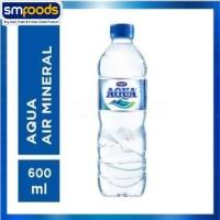 air mineral aqua 600 ml promo termurah grosir