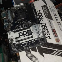 Asrock AB350 Pro4 Mobo AM4 DDR4 for Ryzen 7 5 3 2200G not A320