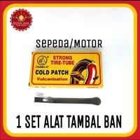 Paket Alat Tambal Ban Sepeda Motor