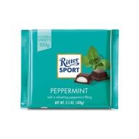 Ritter Sport Peppermint Chocolate 100 gr - Cokelat rasa Peppermint