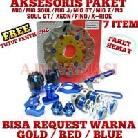 Best 7 Item Aksesoris Variasi Motor Matic Yamaha Mio Soul GT M3 X Ride