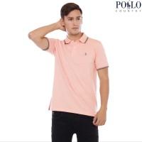 Polo Country - Polo Shirt Pria - Stripe Collar 2738