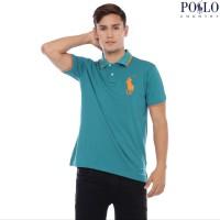 Polo Country - Polo Shirt Pria - Kerah Stripe 2739