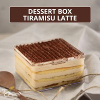 Dessert Box Tiramisu Latte - Kue Tiramissu - Cake Kopi Diana Bakery