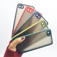 Xiaomi Redmi 6A Hybrid Case Full Protection / Hardcase Handphone - Hitam
