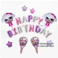 Termurah!! Paket Balon Dekorasi Ulang Tahun Birthday Tema LOL SURPRISE
