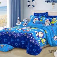 Baru Set Sprei + Bedcover Doraemon Stars/Pink Tsum2/Singging