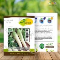 BENIH/BIBIT WORTEL PUTIH LUNAR WHITE (Haira Seed)