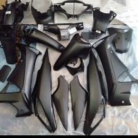 Cover body full set supra x 125 lama hitam