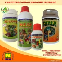 paket lengkap pupuk buah nasa|super nasa|pwr|hormonik |poc nasa