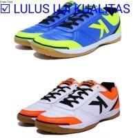 Terbaru Sepatu futsal kelme K-strong royal blue - white orange