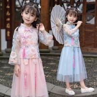Jual Pakaian Kimono Imlek Anak Perempuan / Baju Cheongsam Xipao Kimono
