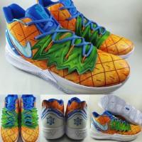Sepatu Basket Nike Kyrie Irving 5 Spongebob Pineapple House Orange