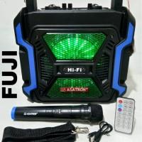 Speaker Bluetooth portable Asatron fuji 8 inch with mic wireless