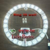 Lampu LED Ring Light 36 watt 220V / Lampu Penganti TL Ring