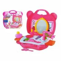 Mainan Anak Perempuan / Fashion Beautiful Set Koper Makeup SX2298-1