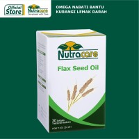Nutracare Flax Seed Oil 30 softgel