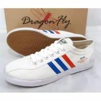 sepatu capung DRAGONFLY putih sepatu olahraga dan sekolah