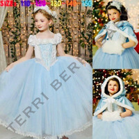 Baju kostum cosplay dress princess cinderella hadiah ulang tahun anak