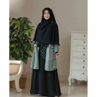 Gamis | Elbina Set Gamis + Outer Only S M L XL | Fashion