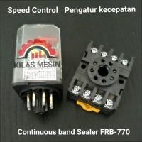 speed Control pengatur kecepatan Conveyor mesin Continuous band Sealer