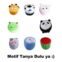 Sofa Tiup Balon Mini Anak Kursi Pompa Angin Karakter Motif Hello Kitty